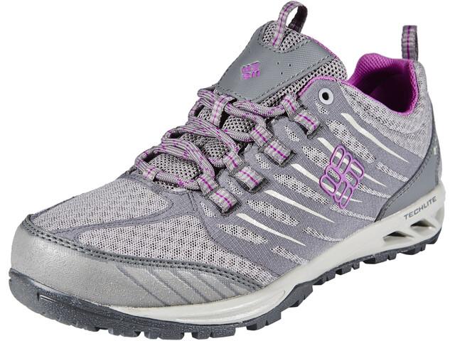 Columbia Ventrailia Razor Outdry Shoes Women Light Grey, Razzle